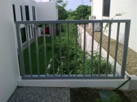 Powdercoated Aluminium Balustrade