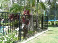 Farmed pool fencing