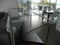 steel wire stairs